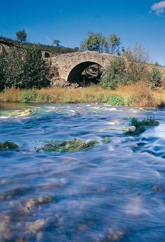 Abadía. Paso del Río Ambroz. Fotografía cedida por DIVA.