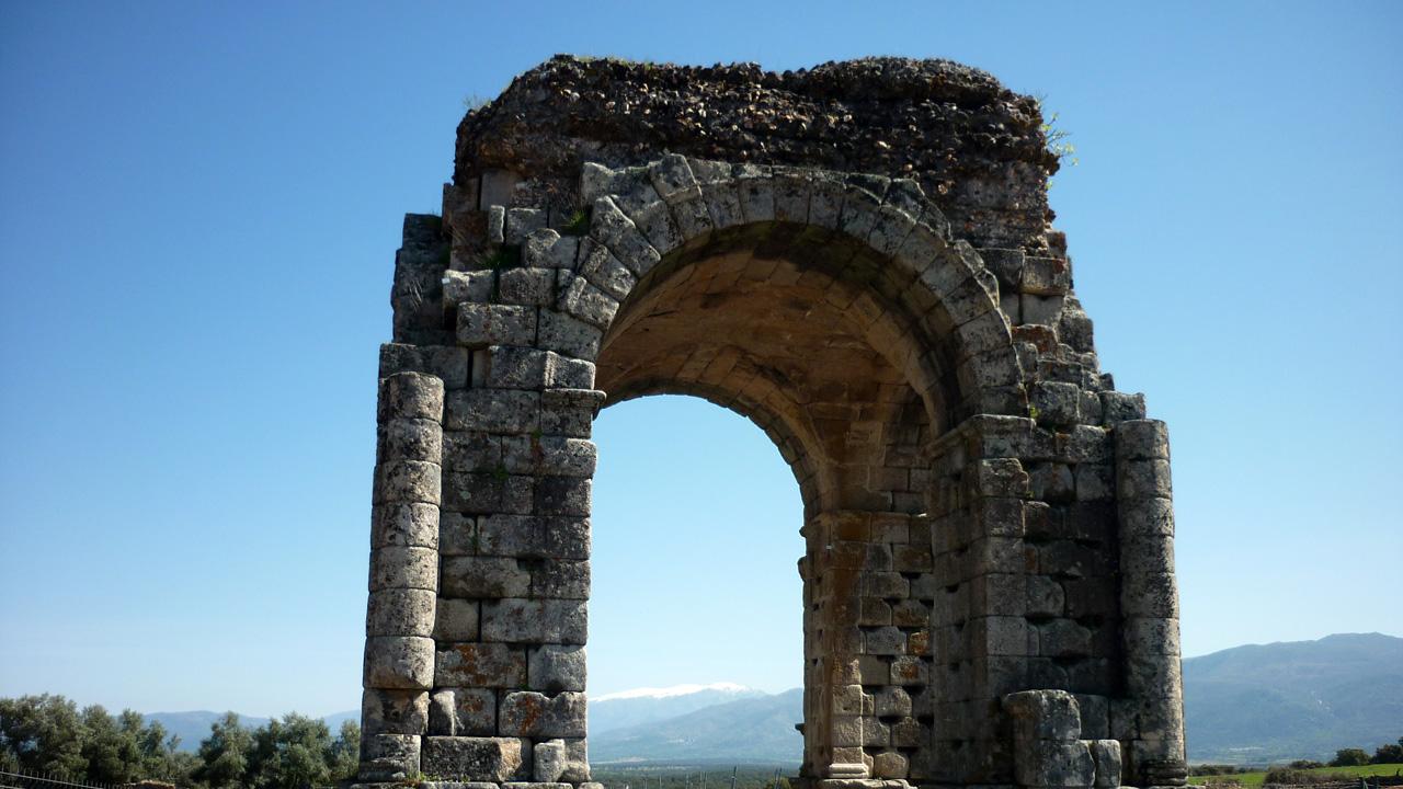 Ruinas de la Ciudad Romana de Cáparra.