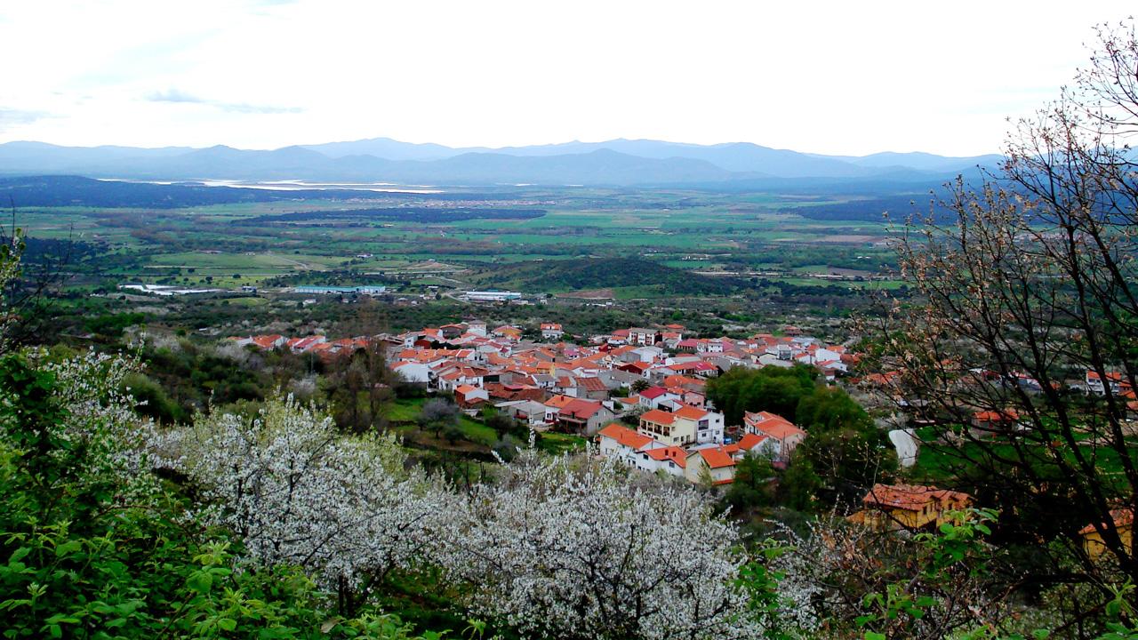Casas del Monte. Vista Panorámica. Fotografía cedida por DIVA.