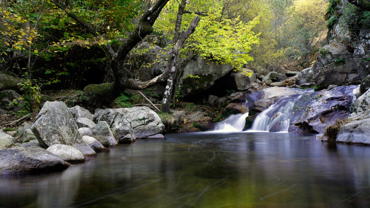 Charca La Tejea. Ideal para darse un chapuzón en verano. Fotografía cedida por DIVA.