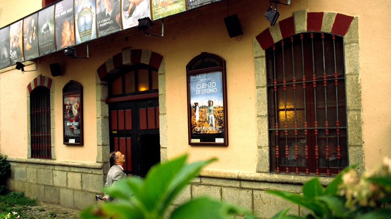 Cine Juventud de Hervás. Fotografía cedida por DIVA