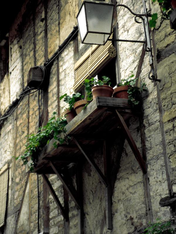 Entramado fachada típico del Barrio judío. Fotografía cedida por DIVA.