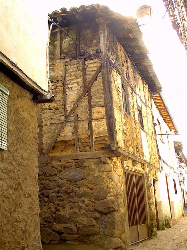 Construcción típica del Barrio judío. Fotografía cedida por DIVA.