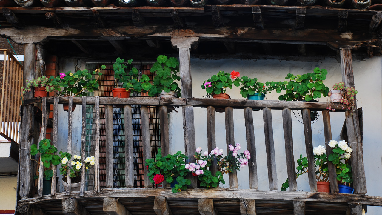 Gargantilla. Balcones típicos. Fotografía cedida por DIVA.