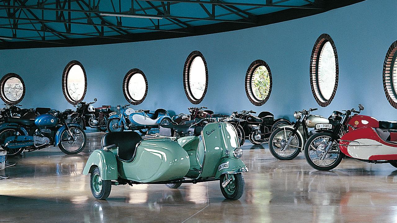 Museo de la Moto. Fotografía cedida por DIVA