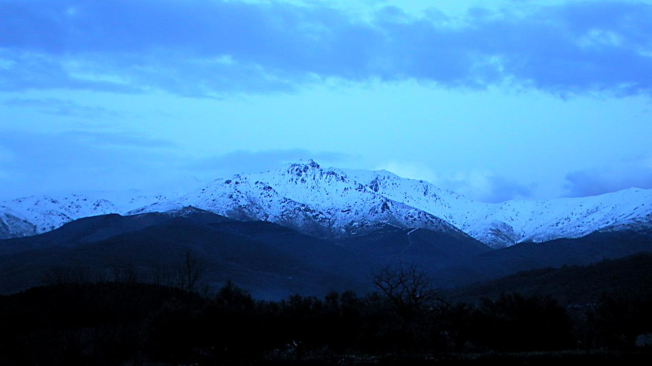Pico Pinajarro nevado. Fotografía cedida por DIVA.