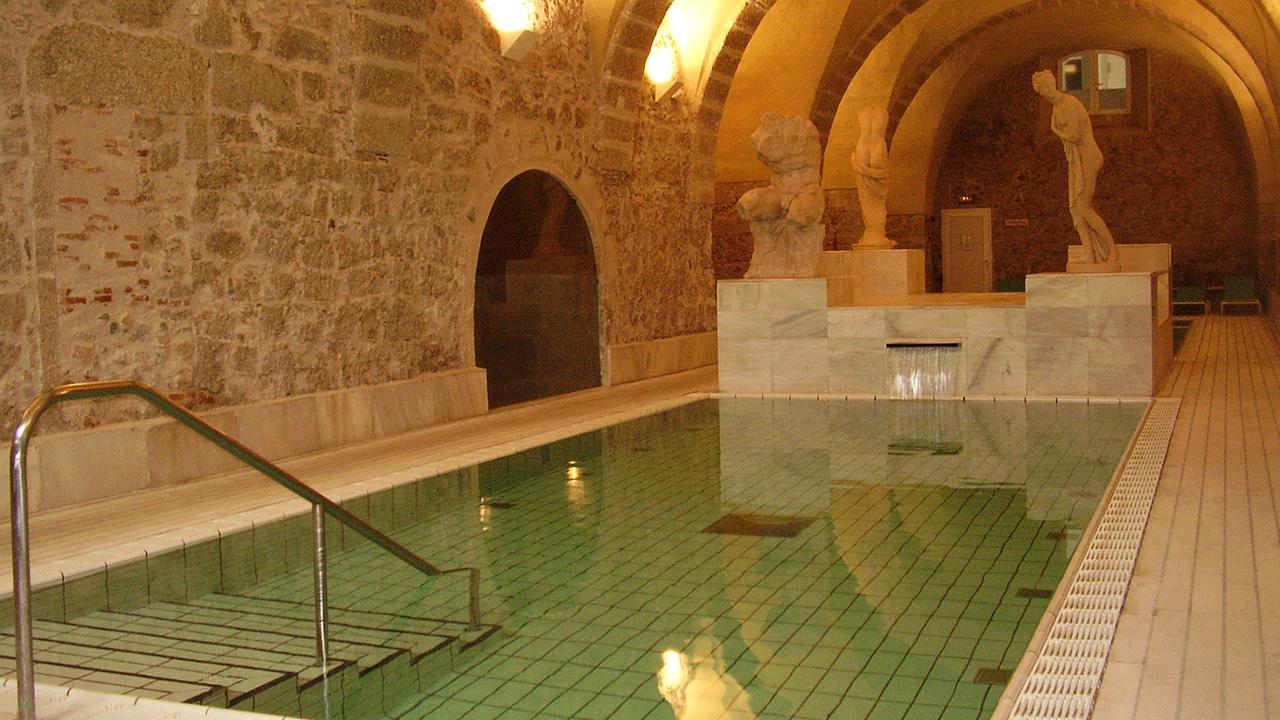 Spa de Baños de Montemayor. Fotografía cedida por DIVA.