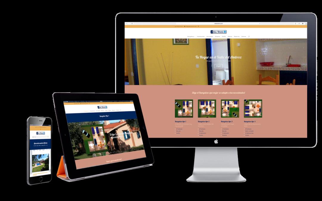 Hemos optimizado la web para tablet's y smartphone's