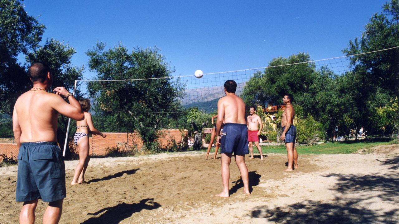 Campo de volley