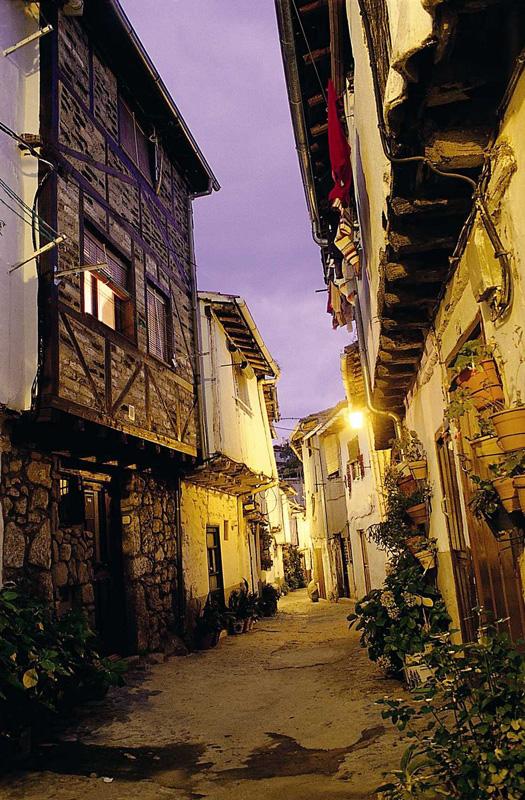 Calle Típica del Barrio Judío. Fotografía cedida por DIVA.