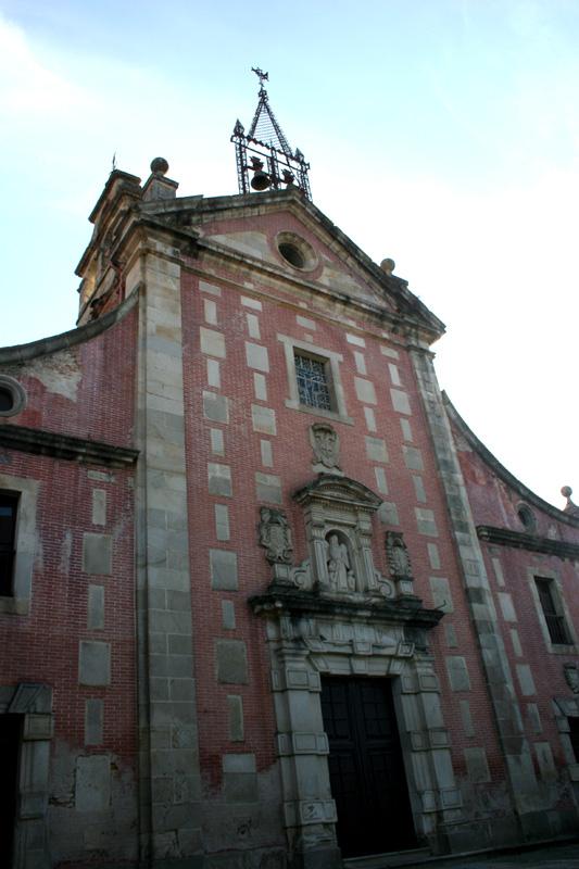 Vista de la fachada del convento. Fotografía cedida por DIVA.