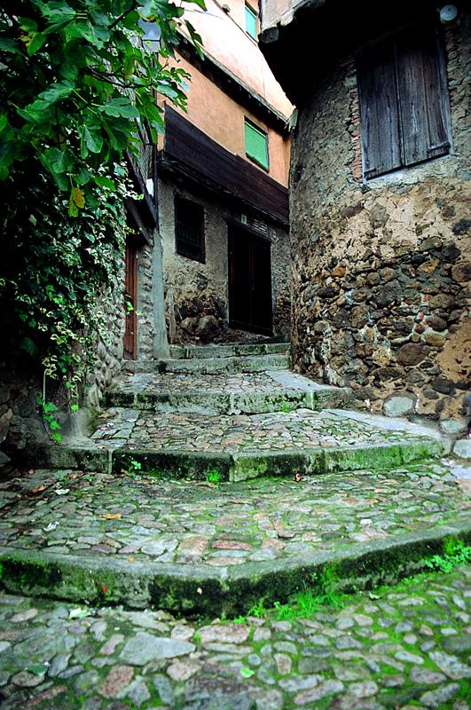 Escaleras de La Cuestecilla desde abajo. Fotografía cedida por DIVA.