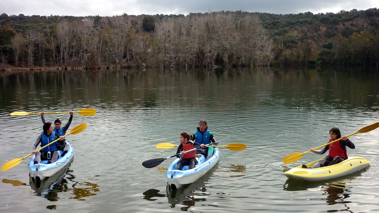 Rutas en Kayak por Tierras de Granadilla. Más información en recepción.