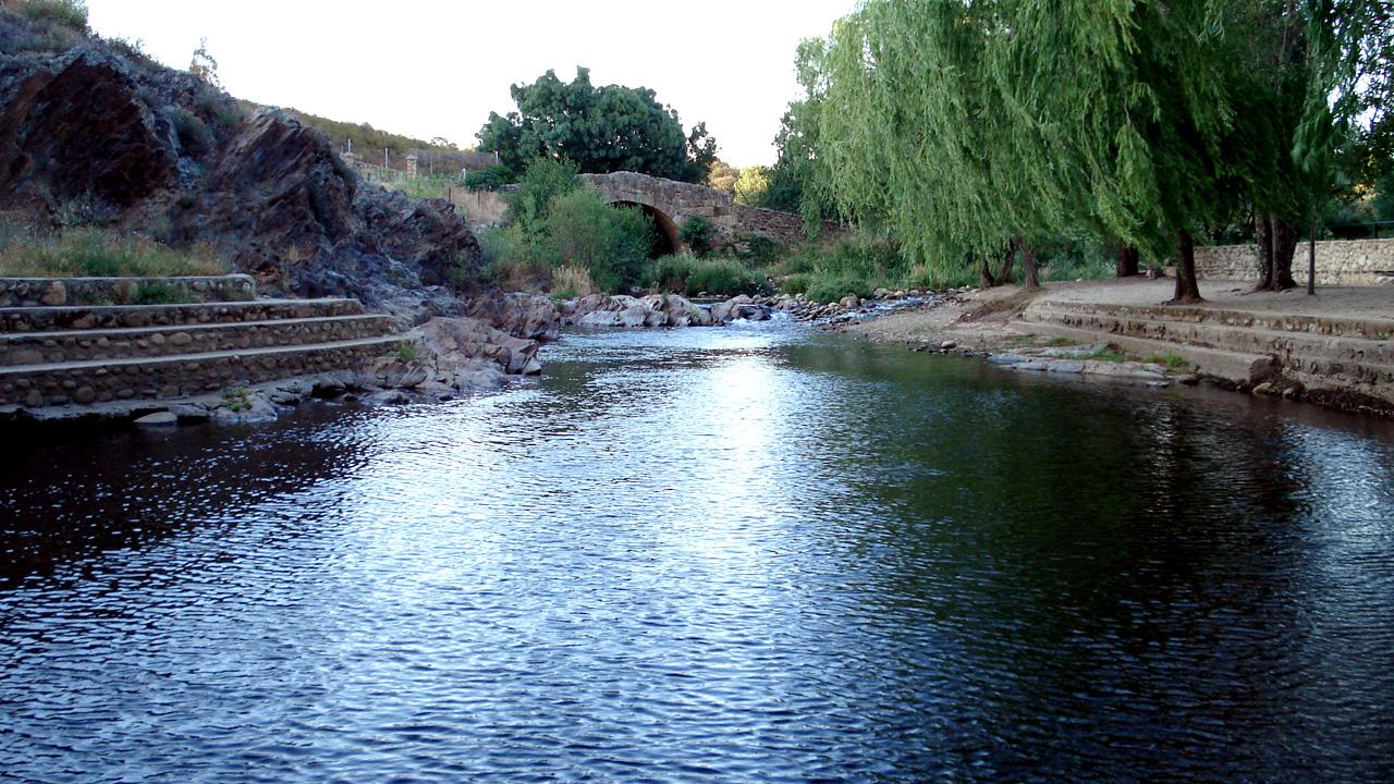 Piscina Natural de Abadía. Fotografía cedida por DIVA.
