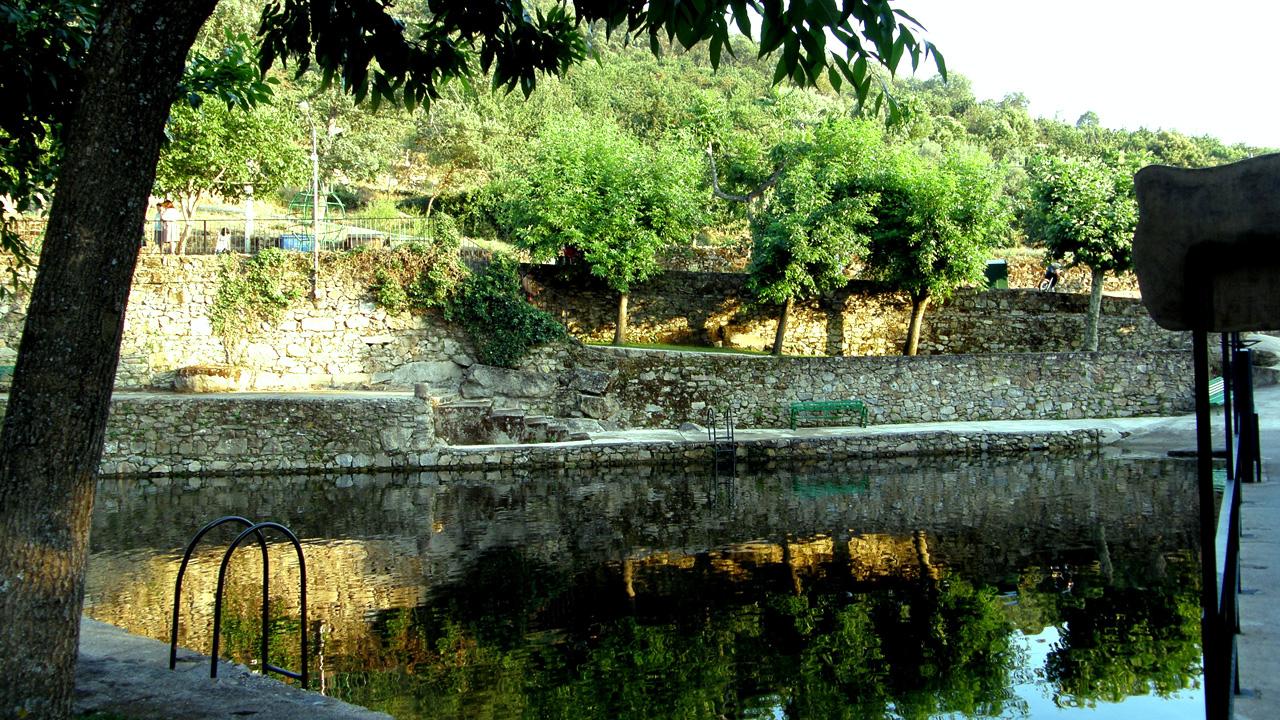 Piscina Natural de Casas del Monte. Fotografía cedida por DIVA.
