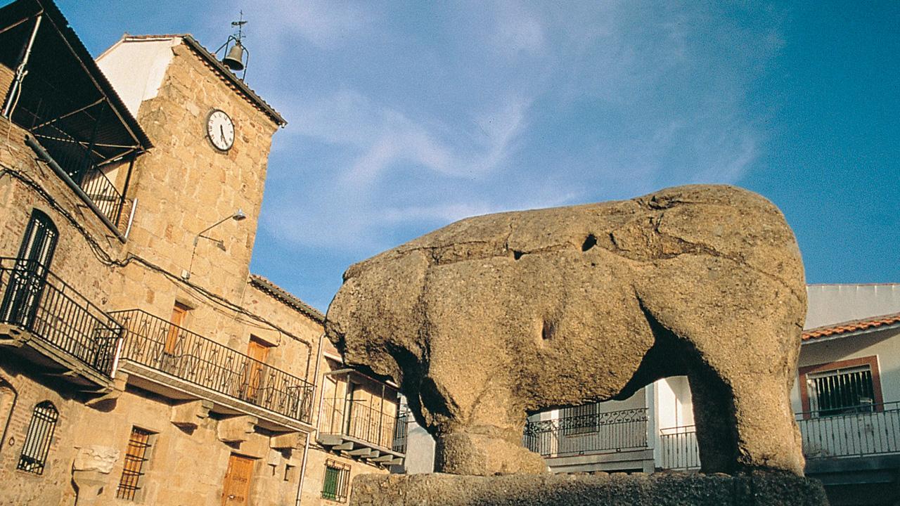 Segura de Toro. La Plaza. Fotografía cedida por DIVA.